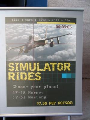 simulator plakat