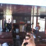 Das Boot und einige der Crew