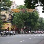 Hanoi Tag 1 & 2 - der Verkehr ist erst mal ungewohnt