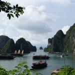 Tag 5 - Halong-Bucht, Postkartenmotive überall